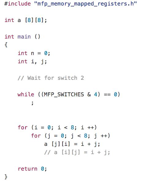MIPSfpga+ allows loading programs via UART and has