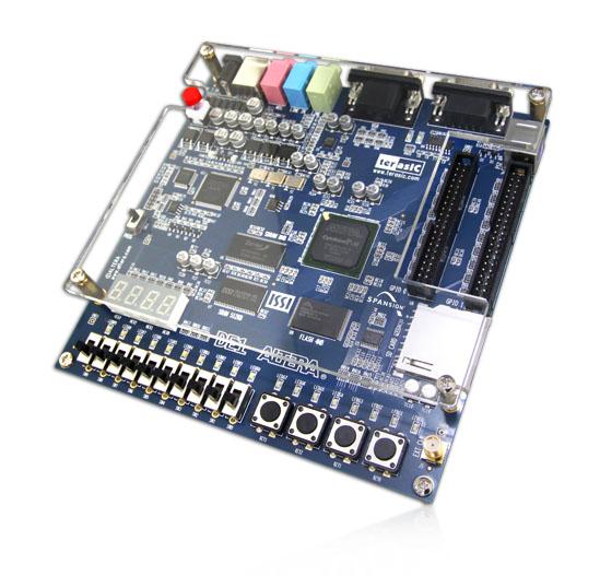 Porting MIPSfpga to Terasic DE1 board with Altera Cyclone II